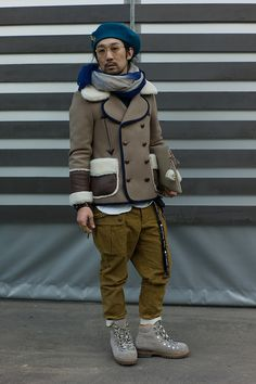 WGSN street shot, Pitti Uomo 83 #Menswear Like our FB page https://www.facebook.com/effstyle