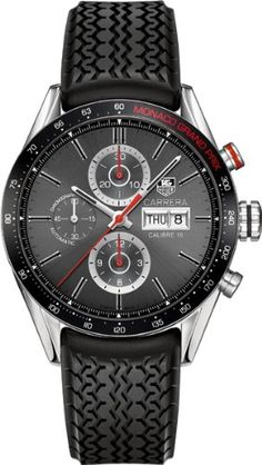 Tag Heuer Carrera Monaco Grand Prix Chronograph Automatic Anthracite Dial Mens Watch CV2A1M.FT6033: Watches: Amazon.com