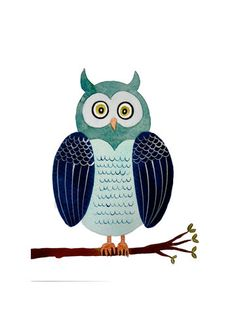 'Blue Owl' by Diana Kim Kaiser