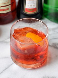 The Negroni - one of the simplest and best classic cocktails that's Anthony Bourdain's favorite drink
