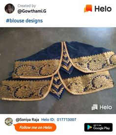 Silk Saree Blouse Designs, Silk Sarees, Hand Designs, Absolutely Gorgeous, Kurti, Embroidery Designs, Sleeves, Fashion, Moda