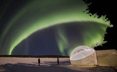 "Finland's new ""Aurora Bubbles"" provide a chill-free view of Scandinavia's spectacular Northern Lights."