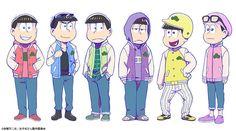 """En el sitio oficial para el anime originalOsomatsu-san, se revelaron nuevos diseños de personajes para los protagonistas. La serie tiene su estreno programado para el mes de octubre de este año, y la imagen muestra a los personajes usando una variedad de chaquetas conocidas como """"sujatan"""", una contracción de """"stadium jacket"""". Por su parte, la […] La entrada «Osomatsu-san» revela nuevos diseños de personajes para su tercera temporada se publicó en ANITOKIO."""