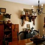 A Primitive Place ~ Primitive & Colonial Inspired Dining Rooms