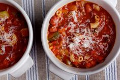 Nourish: In cold weather, Ellie Krieger makes a pot of minestrone nearly every week. Here's why.