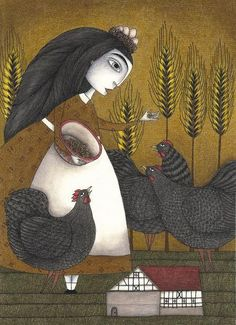 chickens - Judith Clay