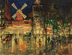 Korovin Konstantin - Moulin Rouge