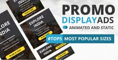Promotion Banner Ads Template - Static and GIF Version