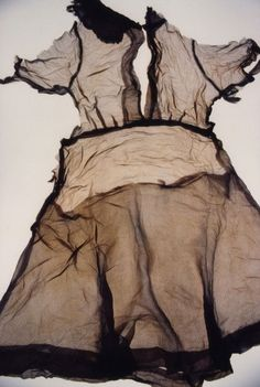 ひろしま hiroshima by Ishiuchi Miyako. October 14 2011–February 12, 2012. Image: ひろしま/Hiroshima #9. ひろしま hiroshima by Ishiuchi Miyako features an installation of 48 photographs by Ishiuchi Miyako of clothing and accessories left behind by victims of the 1945 atomic bomb at Hiroshima.