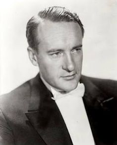 "The always urbane George Sanders and the voice of Shere Khan in Disney's ""Jungle Book""."