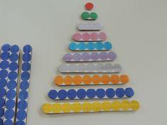 Faire les premières barrettes de perles Montessori