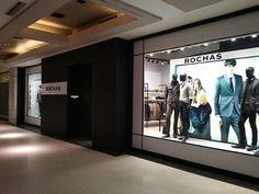 #Restyling de #locales de #moda #Rochas #Arquitecto #FranciscoCantarelli