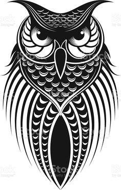 Owl Tattoo Design, Tattoo Designs, Owl Tattoo Drawings, Art Drawings Sketches, Tattoo Ink, Arm Tattoo, Sleeve Tattoos, Owl Vector, Free Vector Art