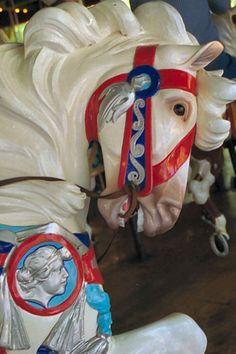 Carowinds Carousel  PTC Outside Row Jumper Head Detail