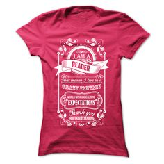 READER T-Shirts, Hoodies. CHECK PRICE ==► https://www.sunfrog.com/LifeStyle/READER-HotPink-Ladies.html?id=41382