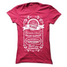 READER T-Shirts, Hoodies. CHECK PRICE ==► https://www.sunfrog.com/LifeStyle/READER-HotPink-Ladies.html?id=41382