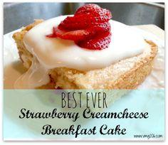 VMG206: Best Ever Strawberry Cream Cheese Breakfast Cake