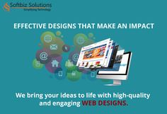 Web designs that speak volumes about your brand http://www.softbiztech.com/web-design.html