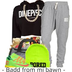 """""""Untitled #283"""" by nanuluvv on Polyvore  cheap KD 6 only $55, save up to 64% off for all #Nikes #Shoes"""