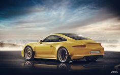 Porsche 911 Widebody, Luca Polizzotto on ArtStation at https://www.artstation.com/artwork/porsche-911-widebody