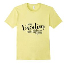 Family Vacation Making Memories Travel Trip T-Shirt Family Reunion Shirts, Family Vacation Shirts, Family Cruise, Family Tshirt Ideas, Family Road Trips, Travel Shirts, Florida Vacation, Beach Trip, Travel Trip