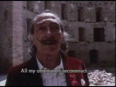 Salvador Dali Biography of Art Espagnole, Salvador Dali Art, Art Criticism, Video Artist, Arts Ed, 3 In One, Old Master, Teaching Art, Oeuvre D'art