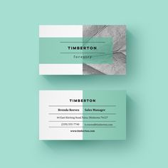 Here's a minimalist business card design I did! Leafy greens and textures. Corporate Design, Branding Design, Logo Design, Corporate Business, Letterhead Design, Business Logos, Corporate Identity, Web Design, Layout Design