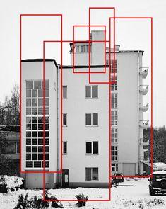 Line art architecture drawing Ideas Architecture Russe, Architecture Drawings, Architecture Design, Architecture Graphics, Bauhaus, Line Design, Web Design, Mises En Page Design Graphique, Timeline Cover