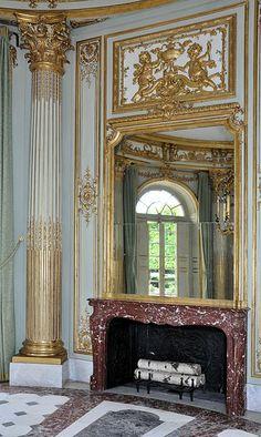 Petit Trianon - Pavillon français - Cloison du réchauffoir