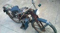 Barn found : 1951 Moto Guzzi Motoleggera 65 cc.  www.moto-officina.com  #guzzi #motoleggera #guzzino #motoofficina