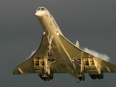 Beautiful ,magnificent-never to be seen again :( - Bing Images / This looks like the Concorde jet that can break the sound barrier.  (No longer in flight.)