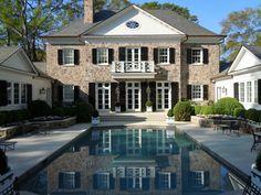 Sunken pool and Garden by Howard Design Studio