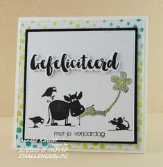 Anneke's hobbyblog: Cards & Scrap, Cats on Appletrees.