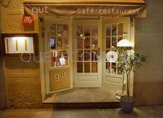 Fachada exterior | Restaurante vegetariano cafetería Gut en Barcelona