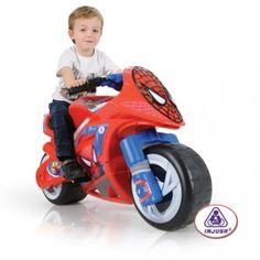 Moto Spider-Man en http://www.tuverano.com/motos-electricas-infantiles/424-moto-spider-man.html