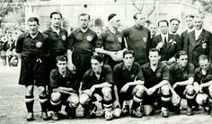 EQUIPOS DE FÚTBOL: SELECCIÓN DE ESPAÑA 1933-34