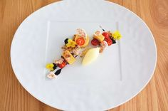 in the kitchen x tomato, balsamic, & prosciutto