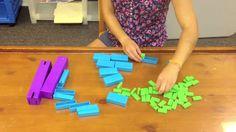 packing 1,2,3 math digiblock  video