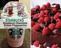 Can't go wrong with chocolate and raspberry! Here's a tasty, dessert like treat that'll take care of that sweet tooth!