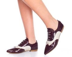 Oxford flat shoes. 30% Off Black and White oxford par ImeldaShoes