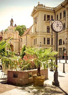 Vilnius - Old Town Squareby © Lina Gavėnaitė    via ysvoice: spoonsofjoy: evysinspirations