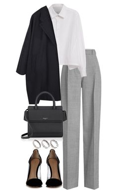 """Untitled #4561"" by theeuropeancloset on Polyvore featuring Victoria Beckham, Gianvito Rossi, Y's by Yohji Yamamoto, MM6 Maison Margiela, Givenchy and ASOS"