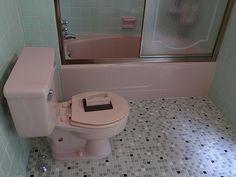 Mid-century American Standard Toilet and bath