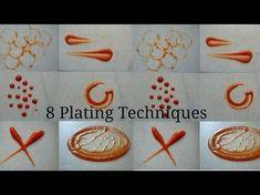 8 Simple Plating Sauce Techniques | CHEF MRUGZIEE