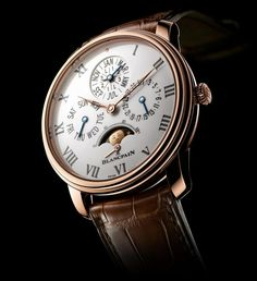 Blancpain Villeret - Blancpain's native village, inspires our most classic collection