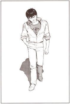 大友克洋 『AKIRA』 扉絵 Episode 025 Young Magazine (December/19/1983) 金田正太郎