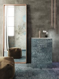 Collezione di #gresporcellanato Luci di Venezia si veste di nuovi colori per l' #interiordesign
