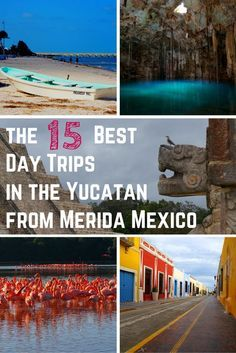 One of Merida's greatest attributes is its centralized location in the Yucatan. All of these day trips from Merida are within a two-hour drive! This detailed guide provides directions for driving, public transportation, and package tours!