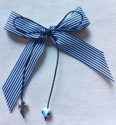 Cutlery bow, love the mataki bead