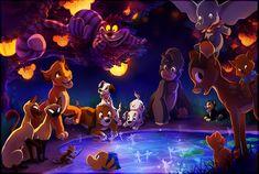 The Gathering of Disney by *TamberElla on deviantART